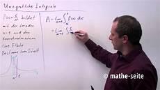 uneigentliche integrale berechnen beispiel 2 a 18 05