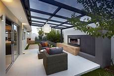 Cosy Outdoor Entertainment Area Design Seen In Quot The