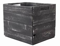 kisten für regal ᐅ holzkiste grau shabby chic f 252 r ikea kallax regale