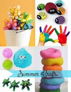 basteln sommer kinder being creative to keep my sanity summer crafts for