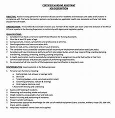 by ririn nazza free resume sle nurse description free resume sles assistant