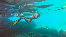 snorkeling the caves at norman island youtube