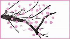 fleur de cerisier dessin comment peindre un cerisier japonais