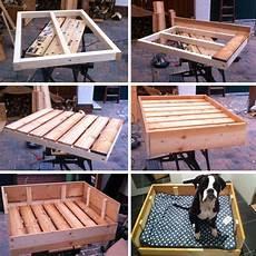 Hundehütte Selber Bauen Paletten - diy freutag hundebett aus holz selber bauen diy