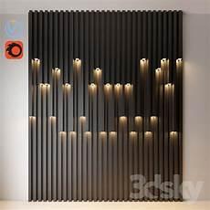 light metal led wall light industrial 3dpanel box lines 3dsky 3ddd corona vray 3d