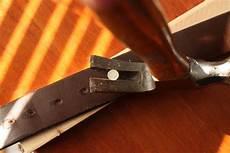 faire des trous dans une ceinture comment faire trou dans une ceinture
