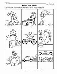 taking care of the earth worksheets 14434 sorting trash an earth day lesson earth day activities earth day crafts classroom freebies