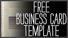 free business card template photoshop