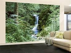 Waterfall In Wall Mural Wallpaper Mural At