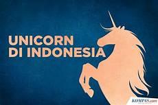 unicorn malvorlagen jepang infografik mengenal unicorn di indonesia