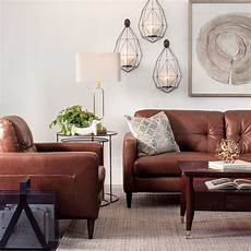 wohnzimmer braunes sofa decorating with brown leather furniture tips for a