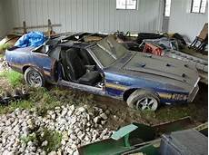 mustang barn finds rusty