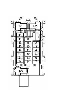 Nissan Note Fuse Box by Nissan Versa Note 2013 2018 Fuse Box Diagram Auto