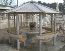 gazebo per giardino prezzi gazebo effetto legno con tavolo panchine e fioriere arredo