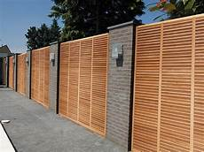 Holz Sichtschutz Und Gartenz 228 Une Der Firma Clercx Senco