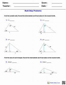 geometry trigonometry worksheets 910 multi step trigonometry worksheets geometry worksheets trigonometry worksheets trigonometry