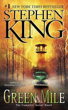 Es Stephen King Buch - five great books with quot green quot in the title paste