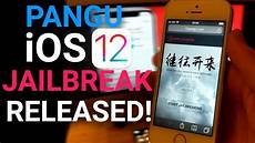ios 12 jailbreak released how to jailbreak 12 0 12 1 2 pangu ios 12 jailbreak released how to jailbreak ios 12 no computer untethered youtube