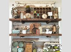 Booth Crush: Antique Booth Shelving