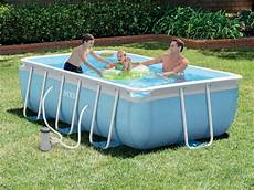 piscine tubulaire rectangulaire intex 3 x 1 75 x 0 8 m pas