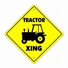 Lustige Malvorlagen Xing Tractor Crossing Sign Zone Xing Indoor