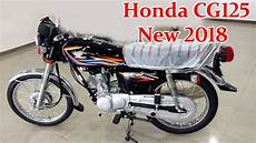 Honda Cg 125 New Model 2018 Black Review On