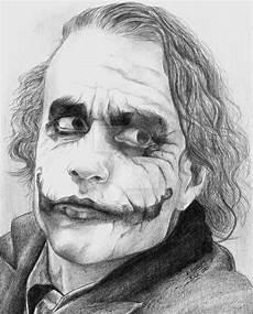 Malvorlagen Batman Joker Heath Ledger As Joker By Kamilafranke Deviantart On