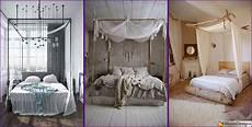 tende per letto a baldacchino baldacchino fai da te 20 idee per un letto chic