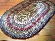 Craft Pattern Braided Rug Use Fabric Remnants 10 Ebay