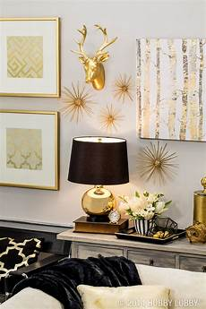 Home Decor Ideas Gold by Black And Gold The Modern Pieces To Bring Your