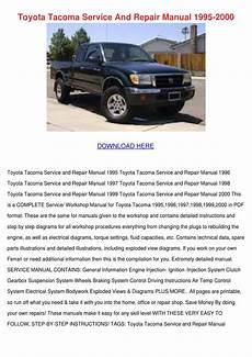 electric and cars manual 1995 toyota tacoma lane departure warning toyota tacoma service and repair manual 1995 by enda dito issuu
