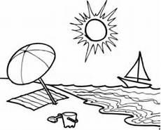 Malvorlagen Urlaub Strand Schule Basteln Mit Kindern Kostenlose Bastelvorlage Basteln