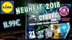 Weco Cyborg Lidl Feuerwerk Neuheit 2018 2019 11 99