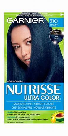 Midnight Blue Hair Dye Garnier garnier nutrisse ultra color darkest blue 310 walmart canada