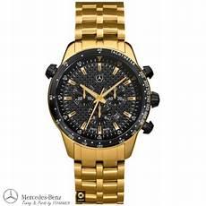 goldene uhren herren original mercedes chronograph armbanduhr uhr