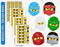 ninjago ninjago mask printable digital files