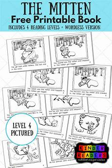 the mitten multilevel kinderreaders printable book a to z teacher stuff printable pages and