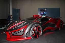 Inferno Exotic Car Auto Van Metaalschuim Levert 1400 Pk