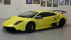 rare 2009 lamborghini murcielago sv up for sale news top speed