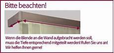 Gardinenschienen Mit Blende - d 214 fix aps design blende gardinen for onlineshop