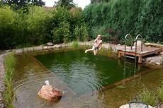 Naturnahes Badevergn 252 Ein Schwimmteich Im Garten Ist