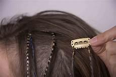 plume de cheveux extension plumes cheveux sur clip barrette