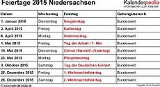Neuer Feiertag Niedersachsen 2018 - feiertage niedersachsen 2015 2016 2017 mit druckvorlagen
