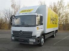 Neu Bei Hertz 15 Tonner Mercedes Autovermietung Und