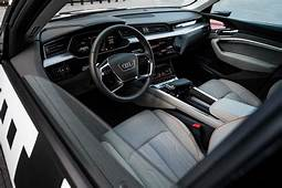Audi Shows Off Its Electric SUVs Screen Filled Interior