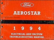 electric and cars manual 1993 ford aerostar parental controls 1994 ford aerostar electrical and vacuum troubleshooting manual