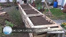 Das 5qm Europaletten Hochbeet How To
