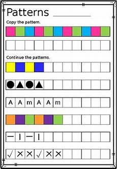 repeating patterns worksheets grade 2 233 repeating patterns worksheet copy continue and create tpt