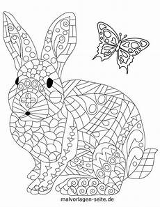 Mandala Malvorlagen Pdf Coloring Page Animal Mandala Rabbit Animals Mandala