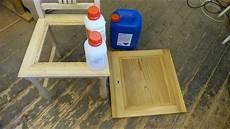 Bleichen Holz Teil 3 Mit Wasserstoffperoxid